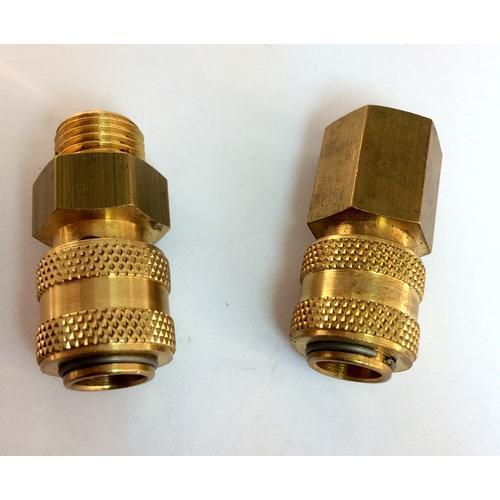 AIR-WATER FITTINGS - Air quick couplings